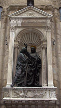 Christ and St. Thomas Firenze Orsanmichele