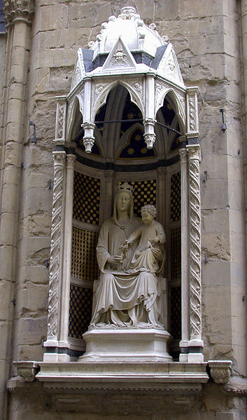 Church of Orsanmichele Virgin and Child